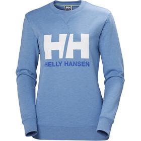 Helly Hansen HH Logo Pyöreäkauluksinen Collegepusero Naiset, cornflower melange